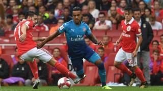 Арсенал набута пет на Бенфика, Уолкът избухна с два гола (ВИДЕО)