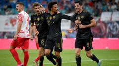 Левандовски и Коман на линия за Байерн срещу Барселона