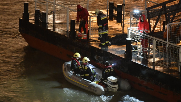 Седем загинали и 21 изчезнали при корабокрушение в Дунав