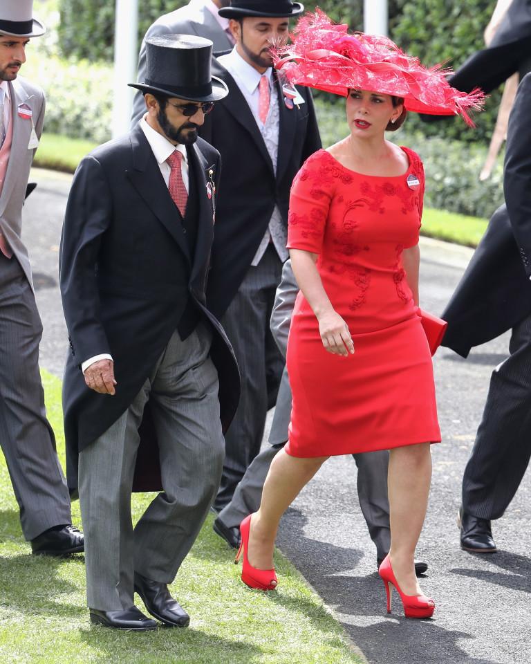 Принцеса Хая и шейх Мохамед