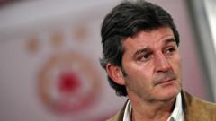 Емил Костадинов пожела успех на ЦСКА и Стойчо Младенов