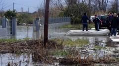 Градове в Гърция залети от над метър вода