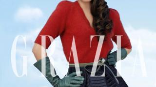 Яна Титова блести от корицата на Grazia