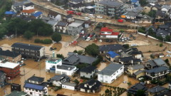 Няма пострадали българи в наводненията в Япония