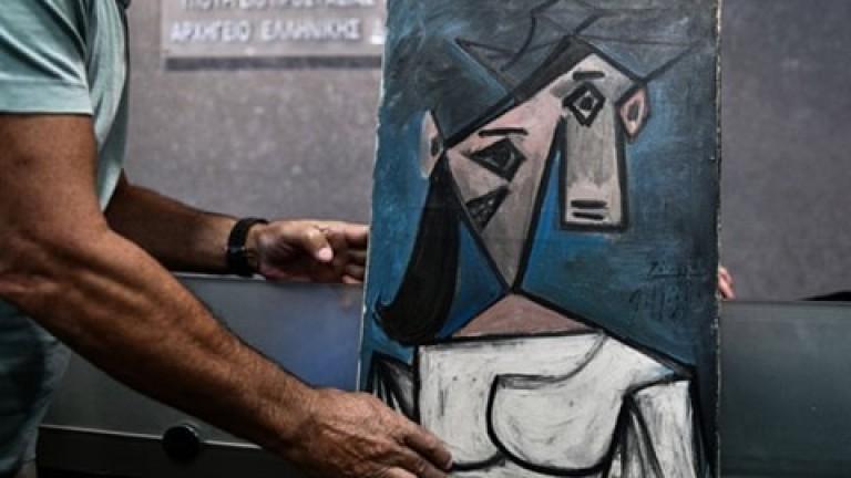 Картината на Пикасо, открита след кражба