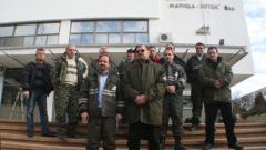"""Започна стачката в """"Мини Марица Изток"""""""