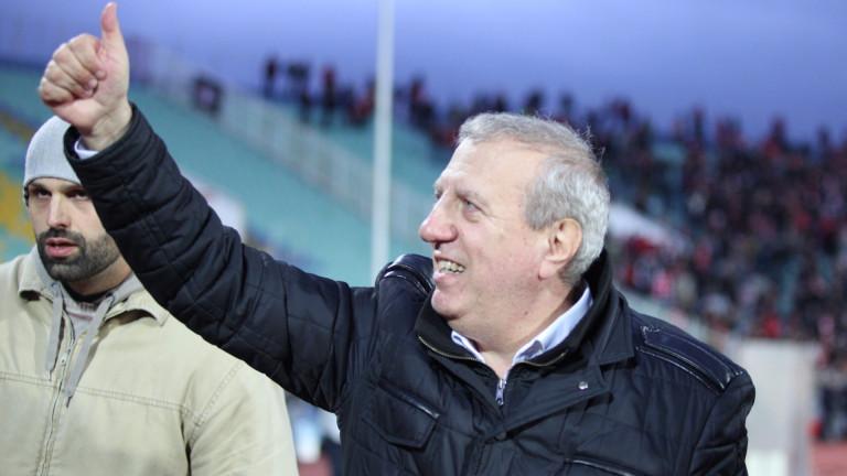 Томов пред ТОПСПОРТ: Аз знам за един ЦСКА - шампион, с 6 победи срещу Левски... Моят ЦСКА!