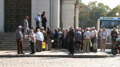 """Шепа пенсионери протестираха срещу монопола на """"Софийска вода"""""""