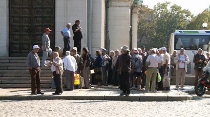 Протест и контрапротест до парламента