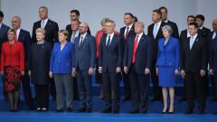 Разногласията в НАТО в един кадър