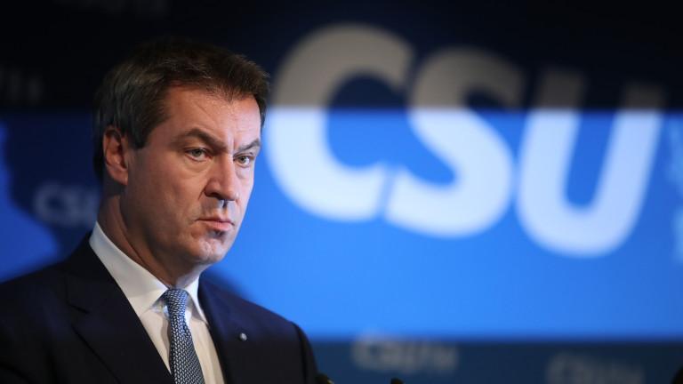 Маркус Зьодер преизбран за премиер на Бавария