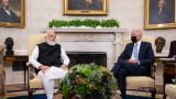 Байдън обсъжда сътрудничеството с премиерите на Австралия, Индия и Япония