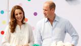 Уилям и Кейт продължават делото на Даяна