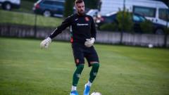 Вратар отпадна от състава на България за мача с Беларус