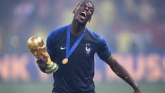 Погба няма да е капитан на Франция в Лигата на нациите