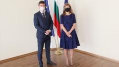 Захариева изрази подкрепа към Чехия от името на Борисов