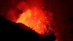 Вулканът на Ла Палма продължава да изригва и отвори нова пукнатина