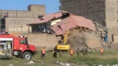 Сграда се срути в кенийската столица Найроби, 15 души липсват