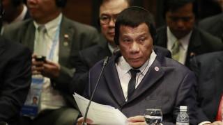 Дутерте предупреждава за усложнения в Южнокитайско море