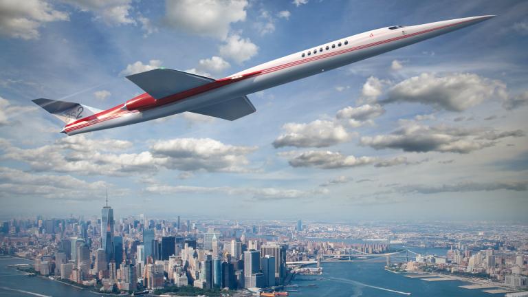 Според много хора свръхзвуковите самолети ще са бъдещето на авиацията.