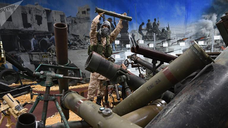 Най-големият склад на терористите от ДАЕШ (