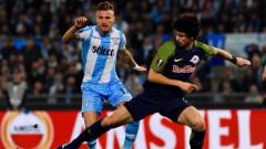 Лацио взе надежден аванс в първия четвъртфинален сблъсък (ВИДЕО)
