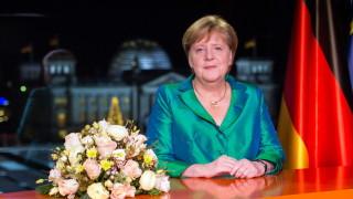 Меркел за Нова година: Германия трябва да направи всичко възможно срещу глобалното затопляне