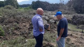 Емил Димитров не видял екощети след аварията на газопровода край Кулата