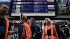 Палежи по германските железници заради Г-20