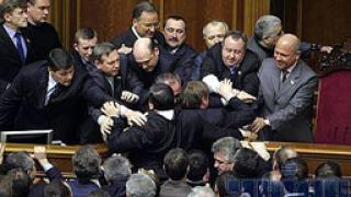 Украинската Рада не даде пари за избори
