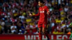 Ван Дайк: Не преговарям за нов договор с Ливърпул