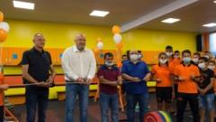 Министър Красен Кралев откри в Русе ремонтирана зала за вдигане на тежести