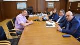 Цацаров разговаря с Александър Ваклин