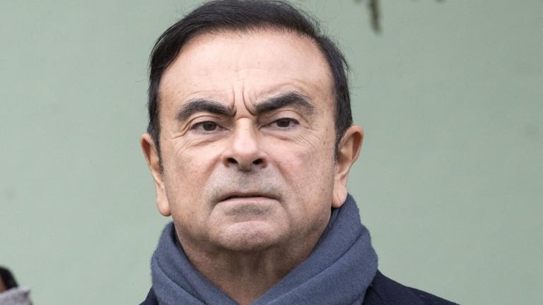 Шефът на Renault-Nissan Карлос Гон е заплашен от 10 години затвор