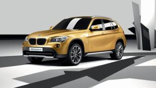 BMW X1 Concept блесна в Париж