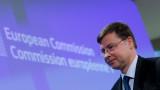 Домбровскис: Расте шансът за Brexit без сделка
