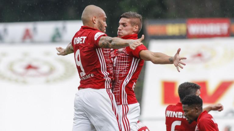 Ясна е групата на ЦСКА за мача с Витоша
