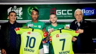 Представиха Юлиян Ненов в новия му отбор в Мароко