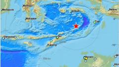 Земетресение от 7,3 по Рихтер край Индонезия и Източен Тимор