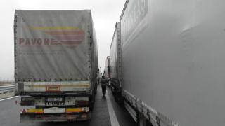 """""""Кулата"""" отново е блокирана за тирове, """"Илинден"""" – за всички автомобили"""