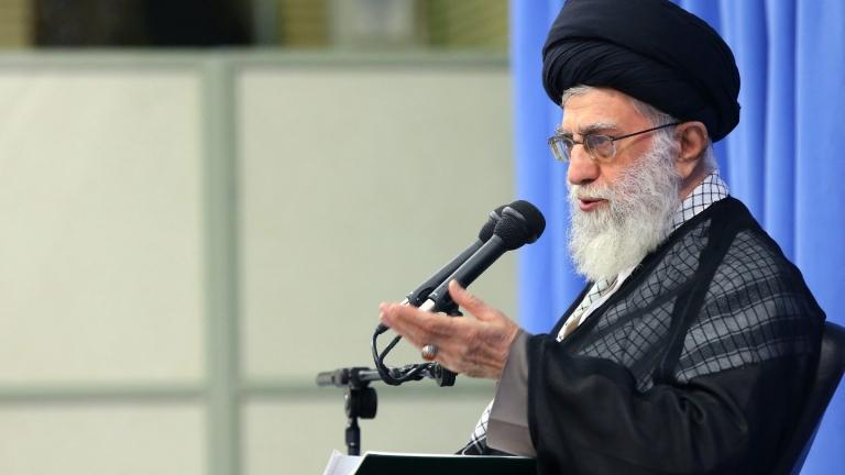 Върховният лидер на Иран аятолах Али Хаменеи обяви, че Ислямската
