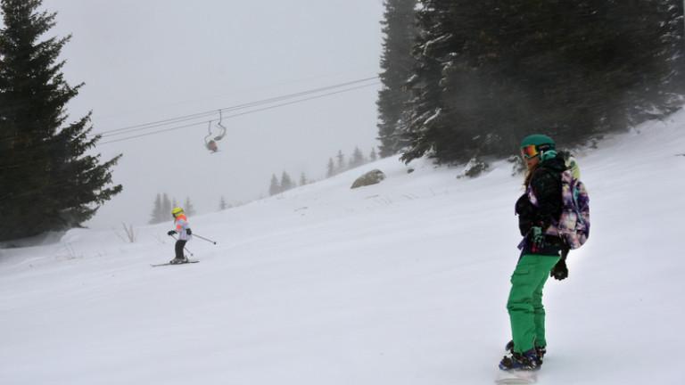 Затвориха и ски зоната на Витоша
