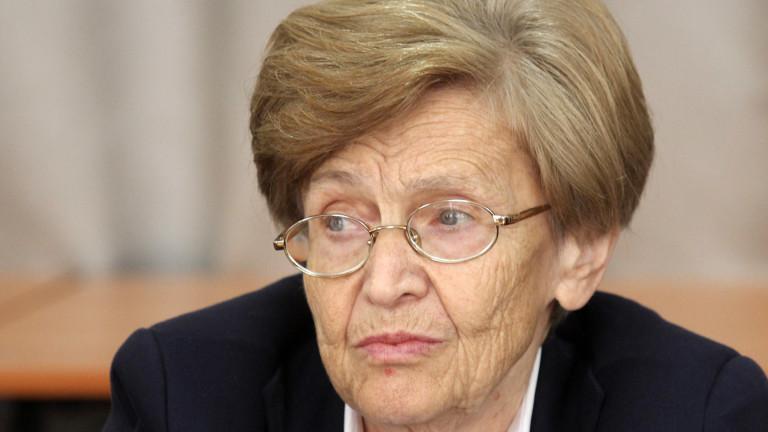 Почина финансистът проф. Христина Вучева