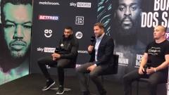 Нинджата се завръща на ринга в Манчестър, Еди Хърн представи него и съперника му