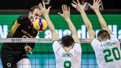Волейболистите ще играят с Австрия и Израел в квалификациите за Евроволей 2021