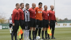 Верея - Локомотив (ГО) 1:0 (Развой на срещата по минути)