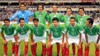 Само трима легионери в състава на Мексико за Мондиал 2006