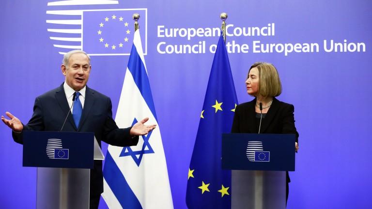 Нетаняху отказа среща с Могерини