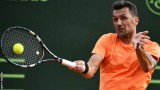 Дебютът на Малдини в тениса се оказа и негов бенефис