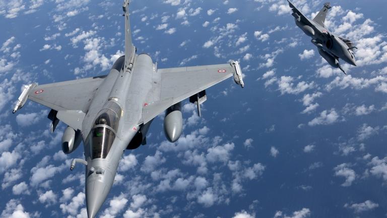 Франция изпраща два изтребителя и фрегата в Източното Средиземноморие
